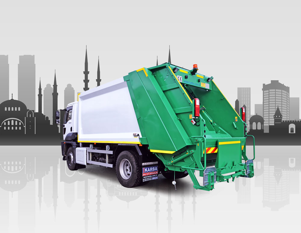 Garbage Collection Compaction Vehicles