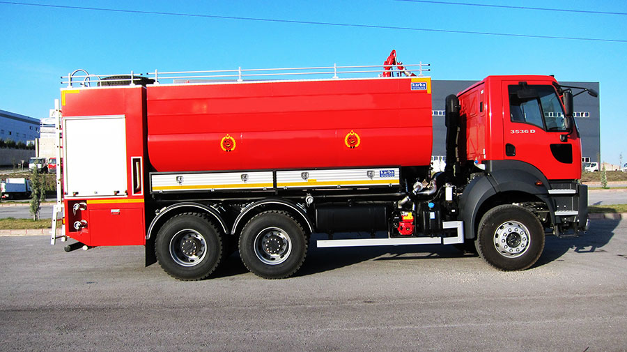 Firefighting Support Tankers