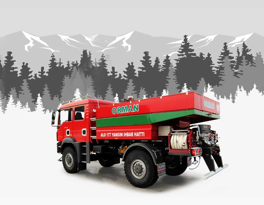 Forest Fire Fighting Vehicles