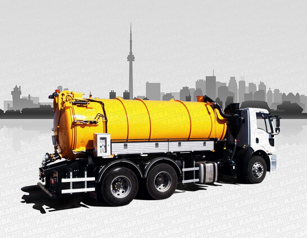 Standart Type Vacuum Trucks