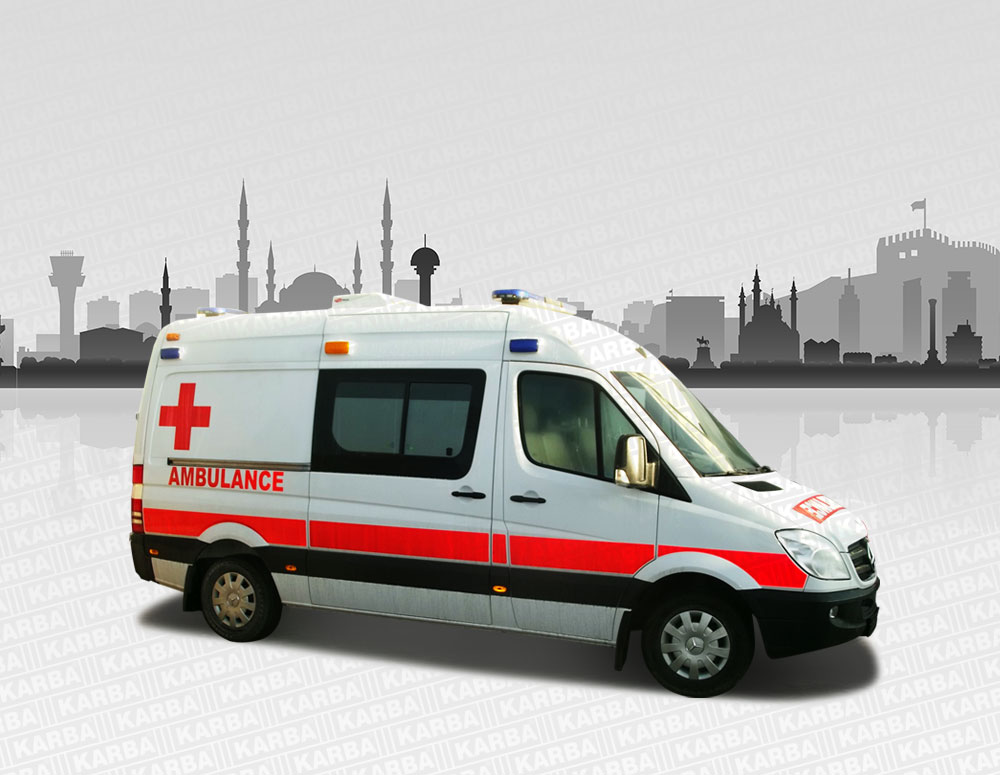 Fully Equipped Intervention Ambulances